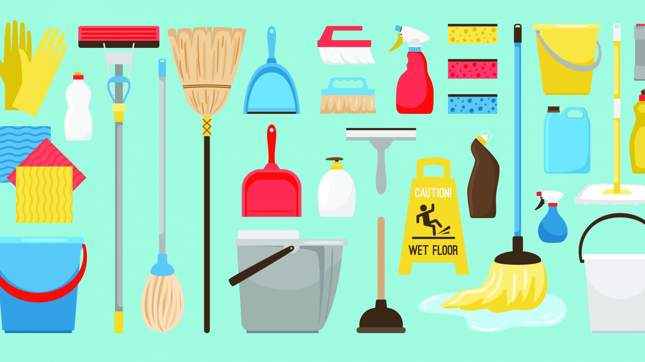 rengjøringsprodukter